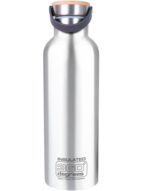 360° degrees Vacuum Insulated Drink Bottle 750ml steel
